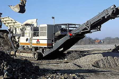 best aggregate rock crusher and screener in liberia