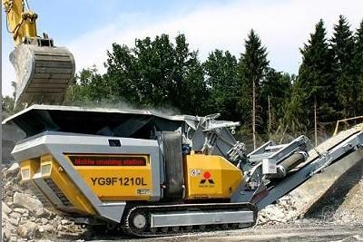 building rubble master crusher in brazil