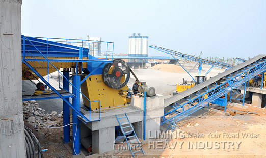 double jaw rock crushers in China liming