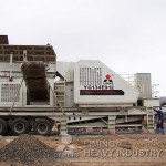 volvo mobile crusher for stone chippings