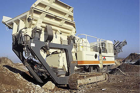 200 tons portable crusher machine in Japan