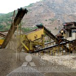 200th granite crusher in dry mortar production line