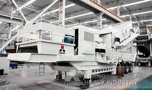Kleemann hydraulic mobile crusher 100 sqm per hour