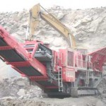 Second hand terex finlay mobile crusher plant Egypt