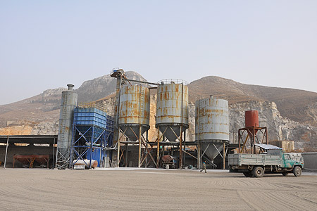 limestone pulverizing and drying system and machinery