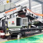 50 tph terex 1-1310 compact impact crusher India