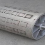 Dry selecting roller