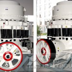 comparison advantages of cone crusher short and standard head