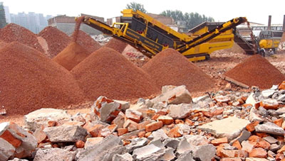 construction unit waste crusher factories in India