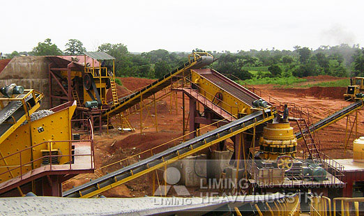 gypsum rock crusher and drying in Liberia