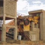 VPE hydraulic jaw crusher for produce stone aggregates