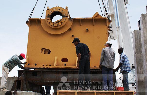 armadillo jaw crusher 65 tonne America