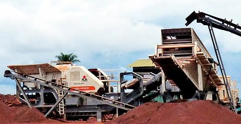 kobelco mobile rock crusher dealers in rajasthan India