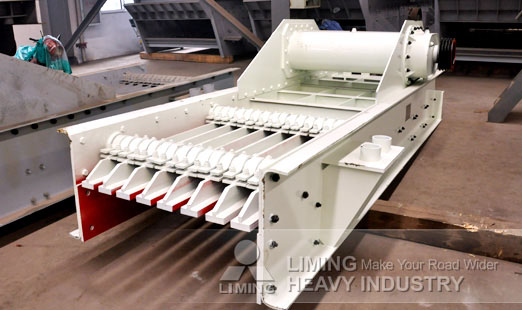technical specification of vibrating screen types