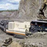 200 tonnes per hour LT110 jaw crusher plant