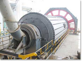 RPS 663 Raymond bowl mill for asbestos mining