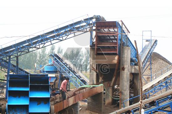 silica sand washing and grinding producing lines company