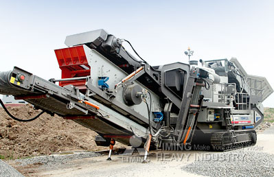 Equipment classifier of mobile sand and gravel pit processing plant