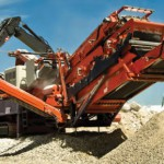used mobile crushers qi 440 in south korea