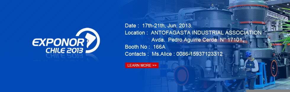We will participate in EXPONOR CHILE 2013