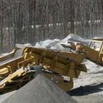 american kobelco tracked rock crushing plant