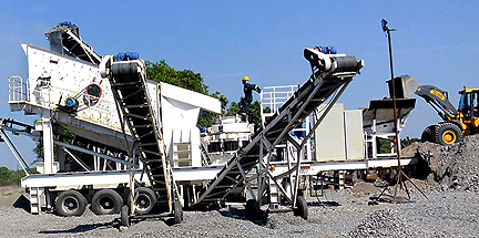 80 tonh mobile crusher made in germany