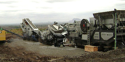 Mobile Quarry Plants Manufacturers in the United States