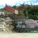 120-150tph voltas mobile crushing plant configuration and rate