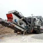 500 Tons capacity mobile jaw crusher for sale uk