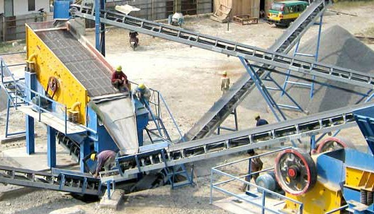 parker stationary jaw crushing plant in nepal