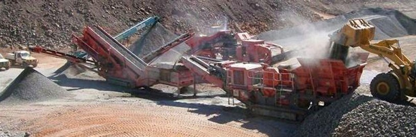 1500 tph Mobile Crushing, Screening & Stockpiling Plant design