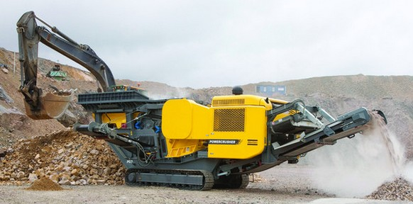atlas copco tracked mobile crusher requirement in Malaysia