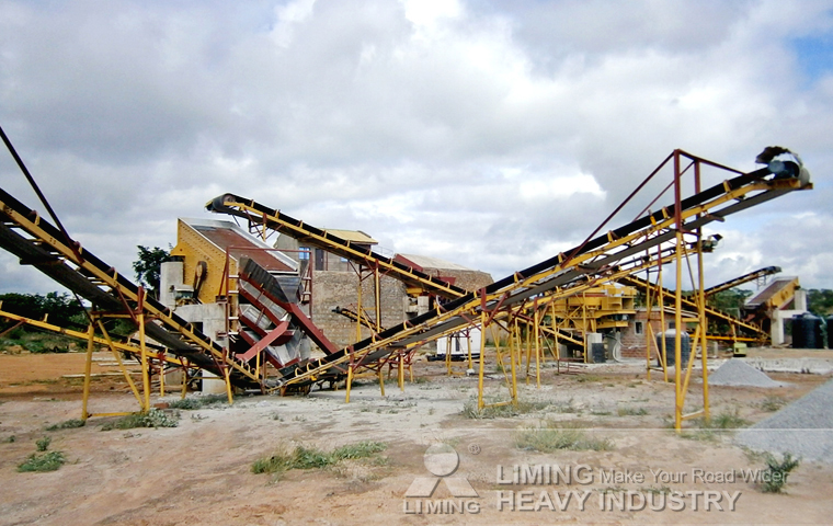 calculation of owning and operating costs of a material crushers