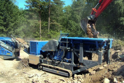 electric boulder stone breaker machine rental price