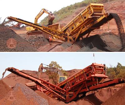 rental fintec 570 mobile screening plant price western australia
